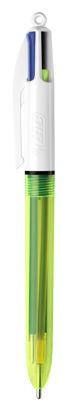 Bic balpen 4 kleuren fluo