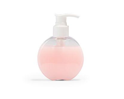 Schijf met witte pomp voor zeep