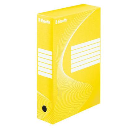 Archiefdoos A4 Esselte boxycolor geel