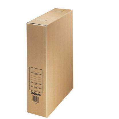 Archiefdoos A4 Esselte bruin karton
