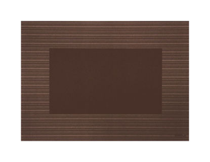 Placemat 80 gr 30 x 42 cm bruin 100 stuks tafeldecoratie onderlegger