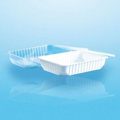 Euro (micro) box 500 cc helder 50 stuks opdienen bewaren verpakken
