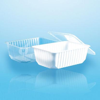 Euro (micro) box 1000 cc helder 50 stuks opdienen bewaren verpakken