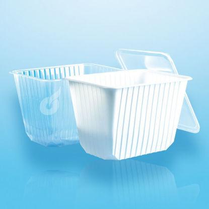 Euro (micro) box 2000 cc helder 50 stuks opdienen verpakken bewaren