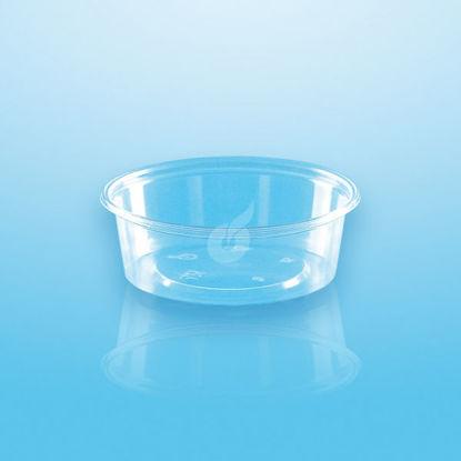 Dressing box 50 cc glashelder 50 stuks opdienen verpakken bewaren