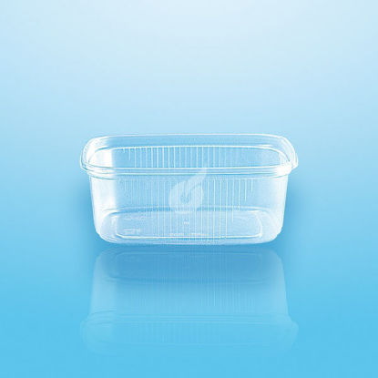 Slagerbakje 200 cc glashelder 100 stuks opdienen verpakken bewaren