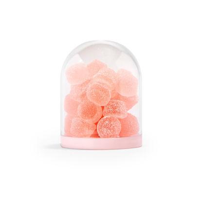 Globe klein met roze bodem