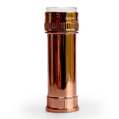 Bellenblazer roze goud