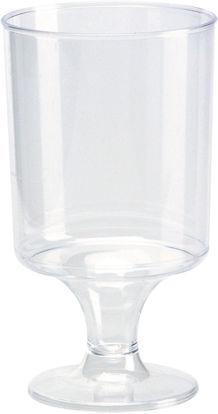 Wijnglas op voet 5 cl 12 stuks opdienen drinken