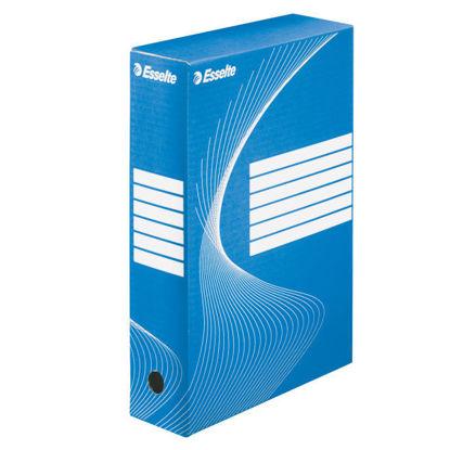 Archiefdoos A4 Esselte boxycolor blauw