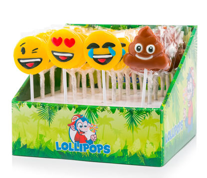 Mini lolly emoticons