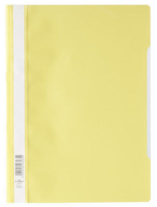 Bestekmap PP Durable geel