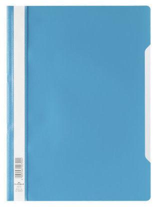 Bestekmap PP Durable lichtblauw