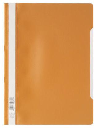 Bestekmap PP Durable oranje