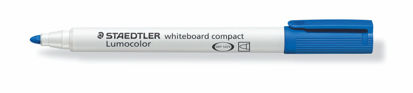 Witbordstift Staedtler lumocolor blauw 1-2mm