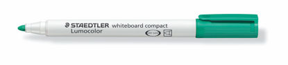 Witbordstift Staedtler lumocolor groen 1-2mm