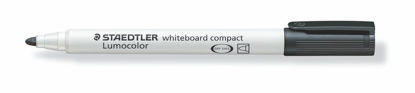 Witbordstift Staedtler lumocolor zwart 1-2mm