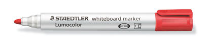 Witbordstift Staedtler lumocolor rood 2mm