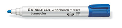 Witbordstift Staedtler lumocolor blauw 2mm