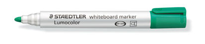 Witbordstift Staedtler lumocolor groen 2mm