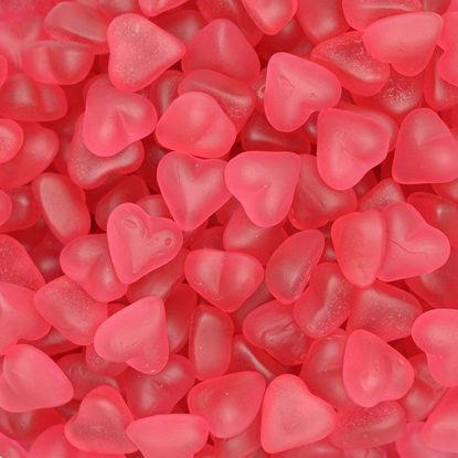 snoep rode hartjes