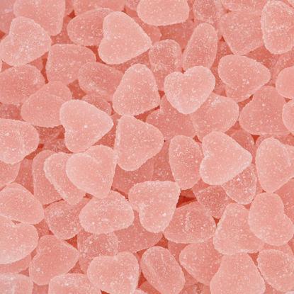 snoep roze hartjes