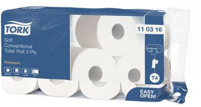 Traditioneel zacht toiletpapier 3 laags