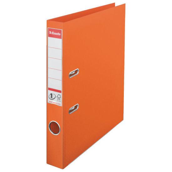 Ringmap Esselte A4 50mm rug oranje