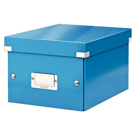 Opbergdoos Leitz C&S klein WOW blauw