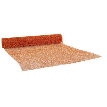 tafelloper honingraat oranje