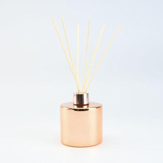 parfumflesje voor geurstokjes roze goud