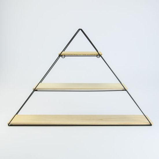 metalen rek driehoek