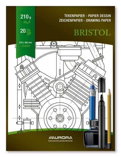 Tekenblok Bristol