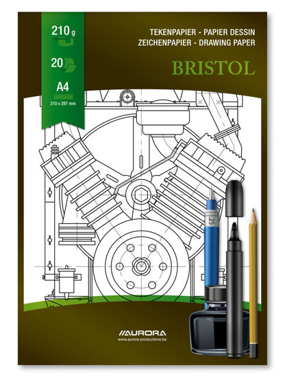 Tekenblok Bristol A4