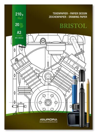 Tekenblok Bristol A3