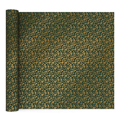 Kaftpapier Olive Leopard