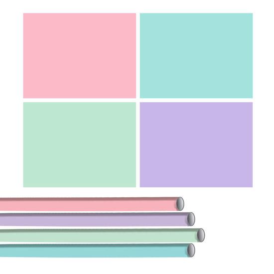 Kaftpapier pastel
