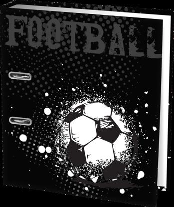 Brede ringmap voetbal