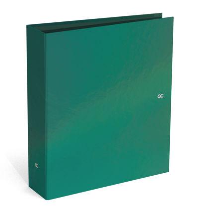 Brede ringmap QC sparkle groen