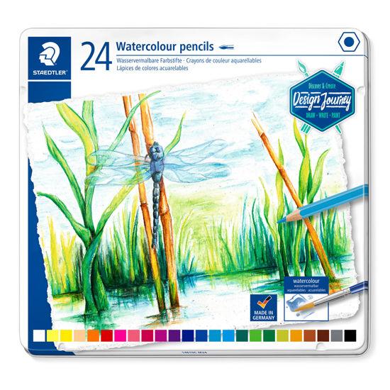 Kleurpotloden aquarel 24 stuks