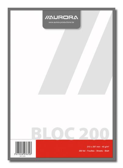 Kladblok A4 blanco