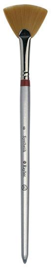 Rayher waaierpenseel, synthetisch, maat 8, korte steel, 3712800