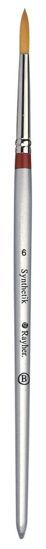Rayher penseel rond, synthetisch, maat 6, korte steel, 3711100