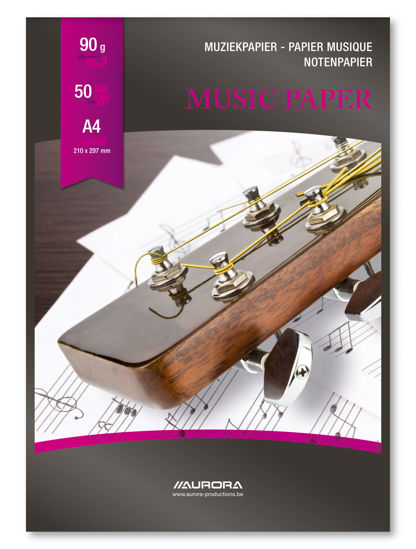 Muziekblok A4