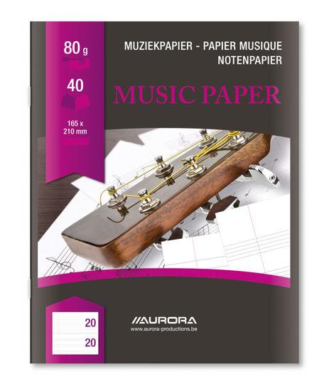 Muziekschrift 165 x 210
