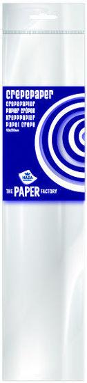 Crepepapier 250 x 50 cm wit