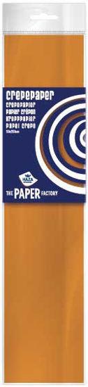 Crêpepapier 250 x 50 cm oranje