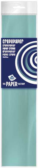 Crêpepapier 250 x 50 cm lichtblauw