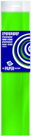 Crêpepapier 250 x 50 cm lichtgroen