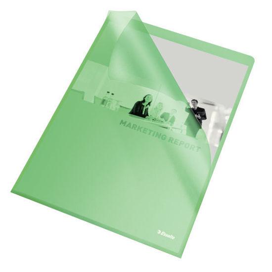 Zichtmap L-model groen